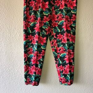 Lilly Pulitzer Pants - Lilly Pulitzer Floral Butterfly Pants